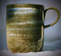 Shop for pottery mug on Etsy, the place to express your creativity through the buying and selling of handmade and vintage goods. The Potter's Wheel, Gas Fires, Stoneware Mugs, Pottery Mugs, Ranges, Glaze, Electric, Cool Stuff, Unique Jewelry