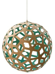 David Trubridge - Coral 400 Pendant LampMore Pins Like This At FOSTERGINGER @ Pinterest