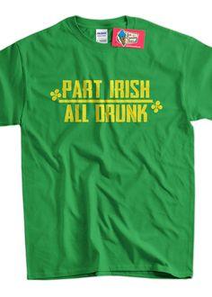 Irish TShirt Drinking TShirt St. Patrick's Day by IceCreamTees, $14.99
