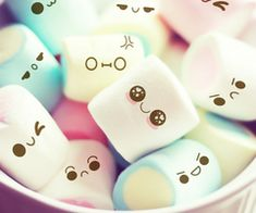 Japanese marshmallows.. lol