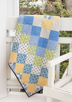 Trip Around the World Quilt Kit featuring the lovely Line Dried Collection by Connecting Threads