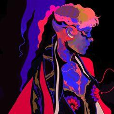 The Art Showcase Art Sketches, Art Drawings, Cyberpunk Art, Pretty Art, Portrait Art, Portraits, Insta Art, Retro, Art Inspo