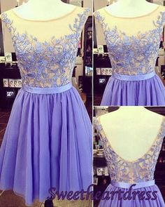 Prom dress 2015, Cute lavender lace open back mini homecoming dress,prom dress for teens #prom2015 #promdress -> http://sweetheartdress.storenvy.com/products/13560177-cute-lavender-lace-open-back-mini-homecoming-dress-prom-dress