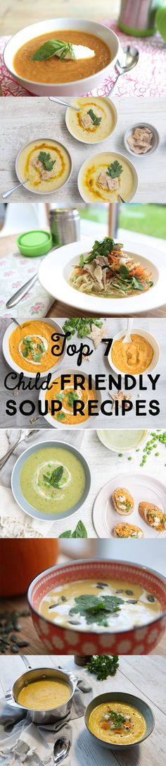 Our Top 7 Child Friendly Soup Recipes Easy Family Meals, Quick Easy Meals, Family Recipes, Healthy Cooking, Healthy Recipes, Seasonal Fruits, Fruit In Season, Nutritious Meals, Freeze