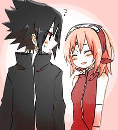 Sasuke and Sakura Uchiha