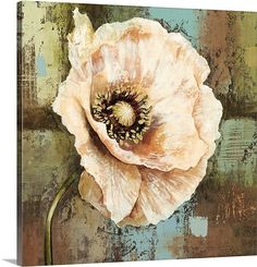 Selina Werbelow's contemporary paintings are famous for their rich texture and diverse appeal. She uses bold, warm tones to create majestic floral close-ups. You can find more at GreatBIGCanvas.com