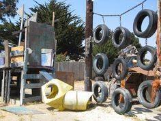 Tire playground inspiration