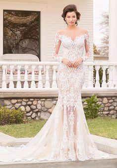 Kitty Chen wedding dress   http://trib.al/YfSeaaa