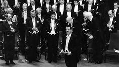 Günter Grass bei der Nobelpreisverleihung: Ein Moralist, beauftragt von der wohl einzigen Instanz, an die er uneingeschränkt zu glauben vermochte: sich selbst.