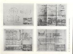 Detalle Forjado de Madera Le Corbusier, France, Concrete Slab, Wood, Marseille, French