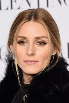 Olivia Palermo: Olivia's babylight highlights perfectly framed her glowing complexion at the Valentino Sala Bianca 945 event.