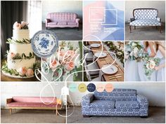 Blush and Blue wedding insperation
