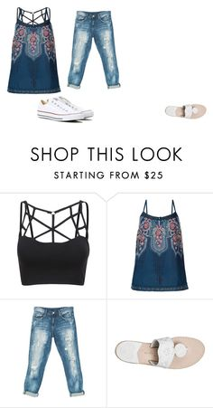 """Untitled #77"" by aly267 on Polyvore featuring Monsoon, Sans Souci, Jack Rogers and Converse"