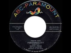 1959 HITS ARCHIVE: *Personality* - Lloyd Price - YouTube
