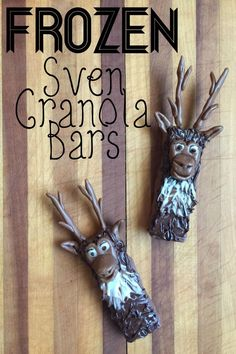 Sven Granola Bars Inspired by - FROZEN - Beauty Through Imperfection