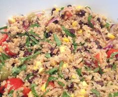 Recipe Moroccan Quinoa Salad by JuJubber, learn to make this recipe easily in your kitchen machine and discover other Thermomix recipes in Side dishes. Great Recipes, Vegetarian Recipes, Cooking Recipes, Healthy Recipes, Food Dishes, Side Dishes, Quinoa Salad Recipes, Mediterranean Recipes, Summer Salads