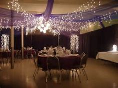 cultural hall wedding ceilings