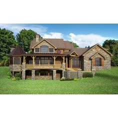 Plan 15651ge award winning gable roof masterpiece house for Daylight basement ranch house plans