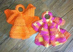"Free pattern for ""Angel Dishcloth""!"