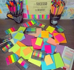 How to Make Rustic Woodland Signs Filofax, Cool School Supplies, School Suplies, Stabilo Boss, Cute Stationary, School Accessories, School Essentials, Too Cool For School, Sticky Notes