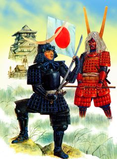 Daimyos Date Masamune and Ii Naotaka at the Siege of Osaka Castle