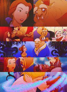 Disney Couples - Belle and Beast (Adam)