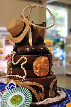 Cowboy Cake by ZakVTA, via Flickr