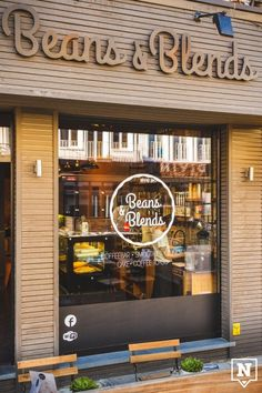 Beans & Blends, Antwerp, Belgium - For more information about this coffee bar tap on the image.