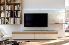 Die 32 besten Bilder auf TV Wand gestalten diy   Media consoles, Tv ...