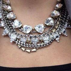 Wear it 5 Ways Mixed Metal Statement Necklace | Sutton Necklace | Stella & Dot