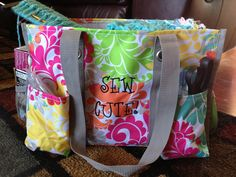 Love my new blanket making supplies bag! Get yours at www.mythirtyone.com/marindaparks
