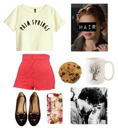 Baking cookies with Bradley by dreamalittlebiggerdarling on Polyvore featuring polyvore, fashion, style, H&M, Charlotte Olympia, Kate Spade, thevamps and BradleySimpson