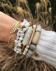 Introducing, the Bangle Collection - Quartz Bracelet: Our Bangle Collection features a raw quartz stone on a smooth gold ion-plated stainless steel cuff. The s