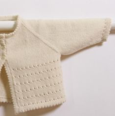 Knitting Pattern Baby Wool Cardigan Instructions in French PDF Sizes Newborn to 18 months Love Knitting, Baby Cardigan Knitting Pattern, Knitting For Kids, Arm Knitting, Baby Knitting Patterns, Knitting Stitches, Baby Patterns, Cardigan Bebe, Cream Cardigan