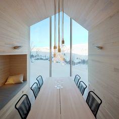 Minimal mountain, Split View Mountain Lodge by REIULF RAMSTAD ARKITEKTER on La Chaise Bleue - Architecture, Interiors and Lifestyle