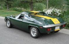 Learn more about Lotus Europa with Injected Ford ZeTec on Bring a Trailer, the home of the best vintage and classic cars online. Vintage Sports Cars, British Sports Cars, Vintage Cars, Delphinium Flowers, Flowers Perennials, Lotus Flowers, Lotus 7, Bmw Z4, Cabriolet