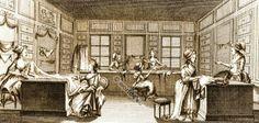 Le Grand Moghul - shop of Parisian designer, Rose Bertin (ca. 1770).