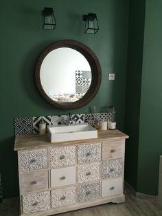 Salle de bain carreaux leroy merlin meuble maison du - Maison du monde salle de bain ...