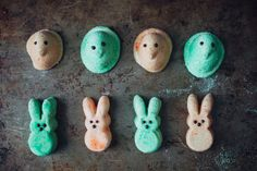 Marshmallow Peeps Recipe (If you'd like to make boozy Peeps, replace 2 tablespoons of water with 2 tablespoons of liqueur.)