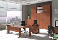 Prostota i funkcjonalność do główna cecha tanich mebli biurowych systemu Express Office  Meble dostępne są do ręki, w maksymalnym terminie wraz z dostawą do 7 dni.