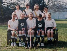 In this undated collect photo provided by St Andrew's School, Kate Middleton (front row, C) is pictured in a hockey team photo during her time as a pupil at St Andrew's School in Pangbourne