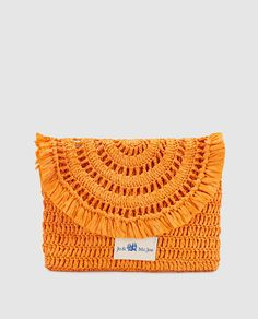 Cartera de mano Beat Steaks en naranja
