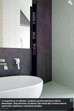 skleněná mozaika koupelna