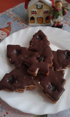 Karácsonyi fahéjas linzer, szilvalekvárral Pudding, Cookies, My Favorite Things, Desserts, Christmas, Elf, Food, Biscuits, Yule