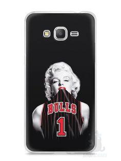 Capa Samsung Gran Prime Marilyn Monroe Bulls - SmartCases - Acessórios para celulares e tablets :)