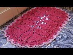 FOTOS DOS TRABALHOS POSTADOS NO FACE #luizadelugh - YouTube Crochet Designs, Diy And Crafts, Coasters, Outdoor Blanket, Youtube, Knitted Rug, Tablecloths, Rugs, Needlepoint
