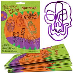 Shop Halloween Gift Packs - 6 Big - Super-Cute Paper Clip Creatures for Party Favors - Prizes - Treats - and Fun Halloween Gifts. Package of 10 - up to off, discover more Children's Birthday Tea Party Supplies enjoy big discount and fast shipping. Tea Party Supplies, Dinosaur Party Supplies, Kawaii Halloween, Halloween Fun, Party Favors, Halloween Gift Bags, Superhero Baby Shower, Gender Reveal Party Decorations, Halloween Office
