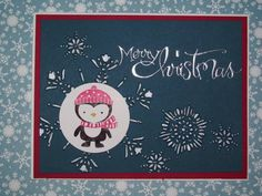 Flaky Penguin by lutheran - Cards and Paper Crafts at Splitcoaststampers