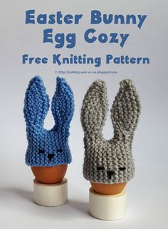 One of this week's Featured Favorites at the Tuesday PIN-spiration Link Party is: Easter Bunny Egg Cozy from Knitting and So On. Get the free knitting pattern right here: Knitting Designs, Knitting Patterns Free, Knit Patterns, Free Knitting, Free Pattern, Knitting Ideas, Easter Bunny Eggs, Bunnies, Knitting For Kids