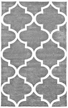 "NuLoom Fez Slate 8'3""x11' Contemporary Area Rug -- Click image for more details."